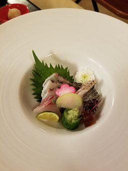 Food, Plate, Meal, Epicure, Dish, Japanese Food