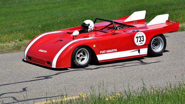 Racing Car, Hillclimb, Fiat Abarth Proto Se 021