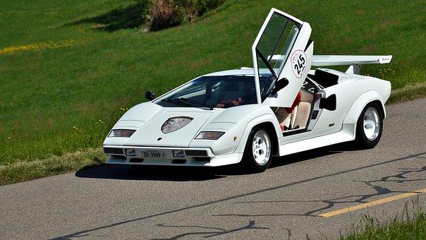 Lamborghini, Sports Car, Hillclimb