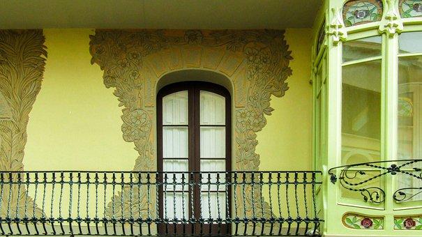 Window, House, Architecture, Door, Wall, Building