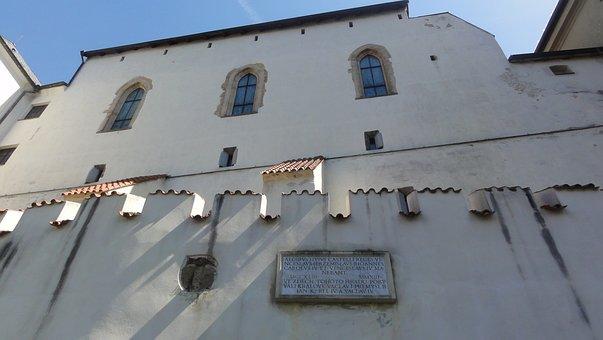 Gothic Castle, Czechia, Architecture, Building, House