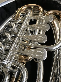 Cornet, Brass, Instrument, Equipment, Chrome, Horn