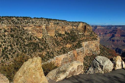 Landscape, Rock, Nature, Travel, Panoramic