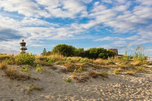 Nature, Sky, Landscape, Panoramic, Travel, Lighthouse
