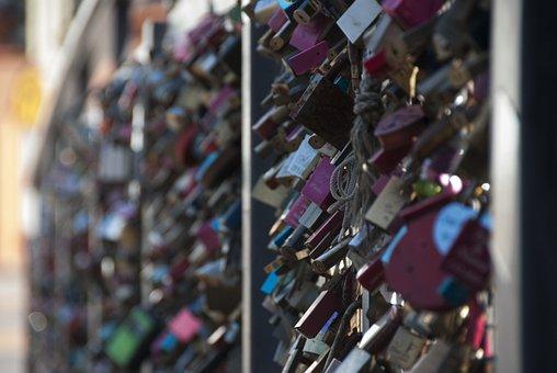 Locks, Bridge, Love, Promise, Symbol, Padlock, Metal