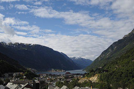 Mountain, Panoramic, Landscape, Nature, Travel, Norway