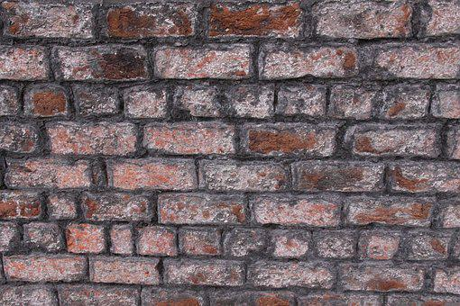 Brick, Wall, Stone, Cement, Old