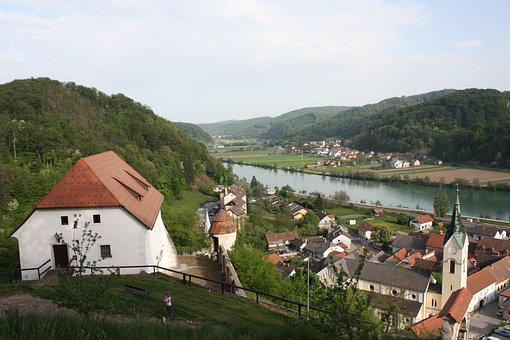 Panorama-like, Architecture, House, Travel, Hill