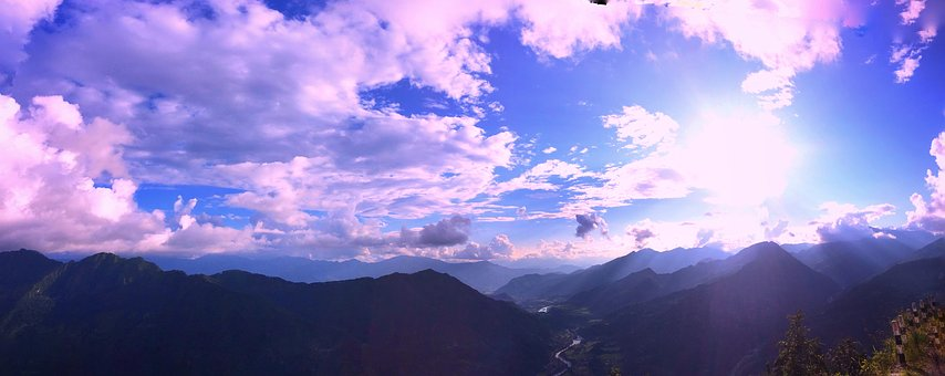 Nature, Panoramic, Sky, Outdoors, Landscape