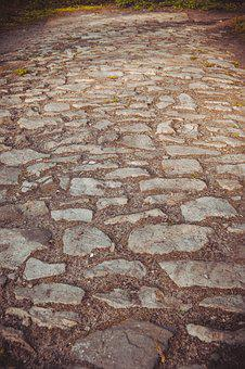 Paving Stone, Paving, Paved Road, Cobblestone
