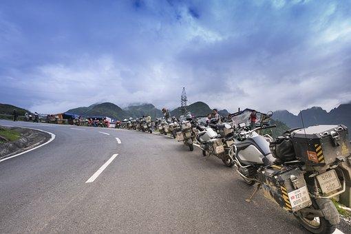 Steep Mountain Pass, Vietnam, Sa Pa, Travel, Fun