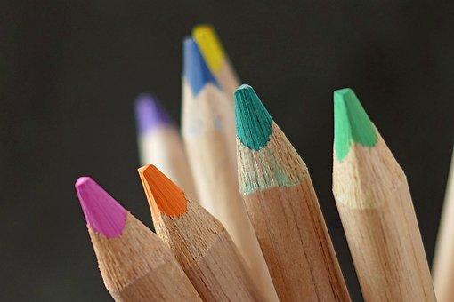 Pencil, Wood, Cross, Education, Creativity, School
