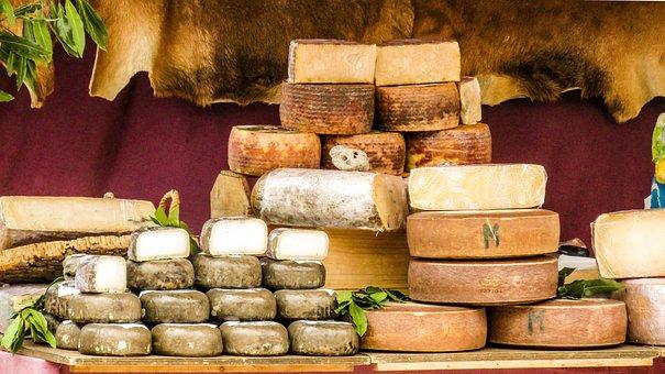 Cheese, Sheep Cheese, Goat Cheese, Manchego Cheese