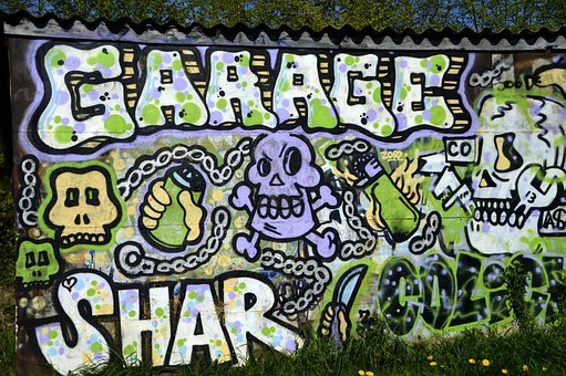Graffiti, Creativity, Sign, Symbol, Garage, Tag