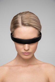 Woman, Skin, Portrait, Face, Model, Futuristic, Ai