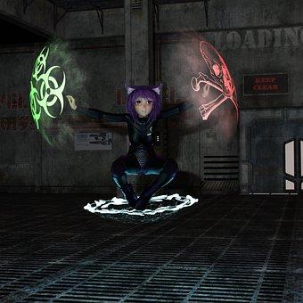 Manga, Sci Fi, Science Fiction, Space, Female, Forward