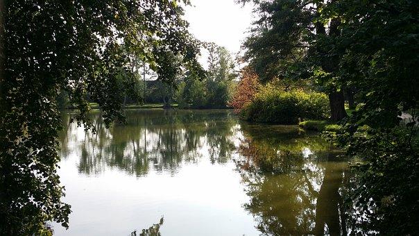 Telč, Czechia, Garden, Park, Monument, Unesco, Summer