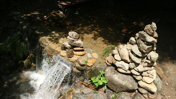 Nature, The Body Of Water, Rock, Stone