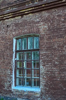 Window, House, Architecture, Old, Wall