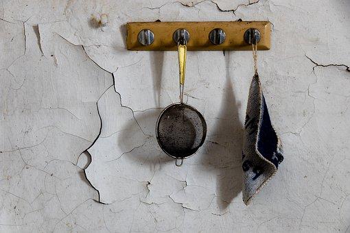 Wall, Sieve, Rag, Kitchen, Budget, Coffee Sieve