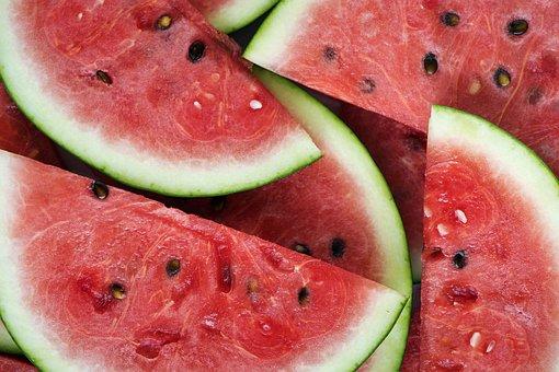 Fruit, Food, Watermelon, Juicy, Healthy, Background
