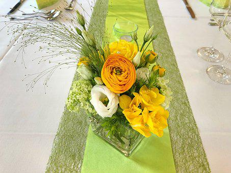 Flower, Ornament, Celebration, Background, Nature