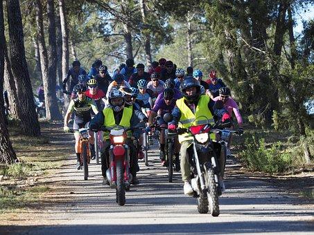 Road, Wheel, People, Sport, Motorcycle, Bit, Bicycle