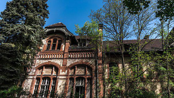 Architecture, Old, Stone, Building, Home, Brick, Leave