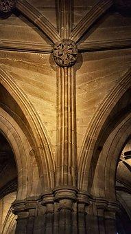 Architecture, Church, Pillar, Building