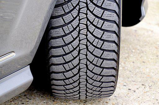Car, Tire, Wheel, Tread, Pattern, Rubber, Road