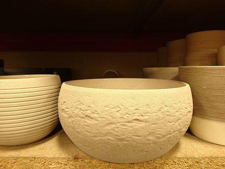 Pottery, Bowl, Ceramic, Luxury, Clay, Container