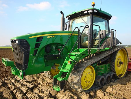 Earth, Tractor, Machine, Industry, Agriculture