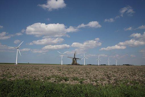 Wind Mill, Turbine, Electricity, Energy, Ability