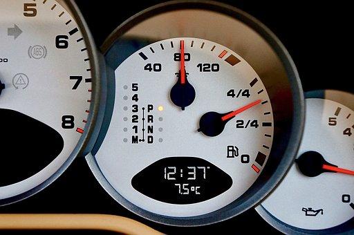 Gauge, Dashboard, Speedometer, Dial, Gasoline