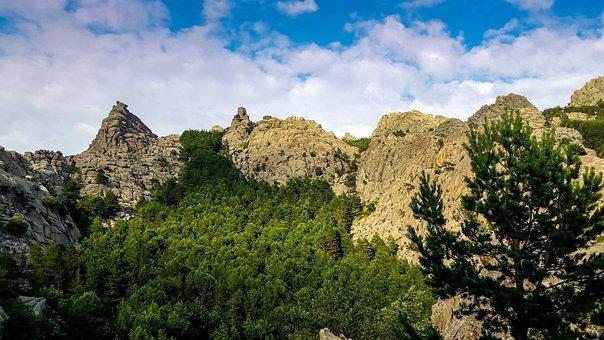 Nature, Sky, Landscape, Panoramic, Mountain, Stone