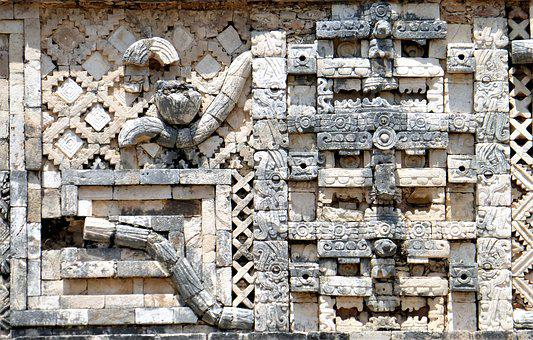Architecture, Mexico, Pierre, Antique, At The Age Of