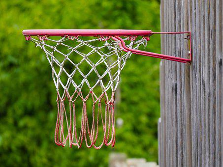 Basketball, Basket, Sport, Play, Leisure, Network, Dew
