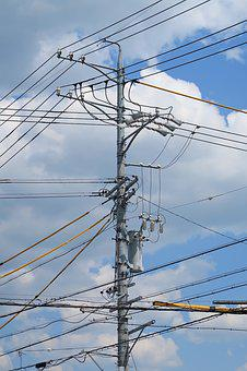 Electrical, Voltage, Power, Industrial, Sky, Energy