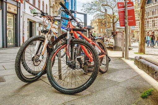 Wheel, Road, Bike, City, Urban, Traffic