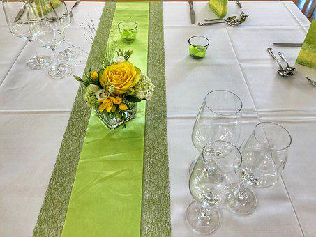 Flower, Summer, Ornament, Nature, Table, Wedding