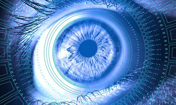 Eye, Information, Technology, Digital, Security, Vision