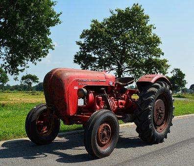 Porsche Diesel Standard, Vehicle, Tractor