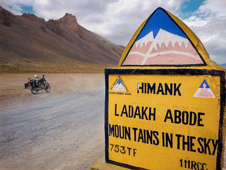 Travel, Adventure, Landscape, Mountain, Road, Shield