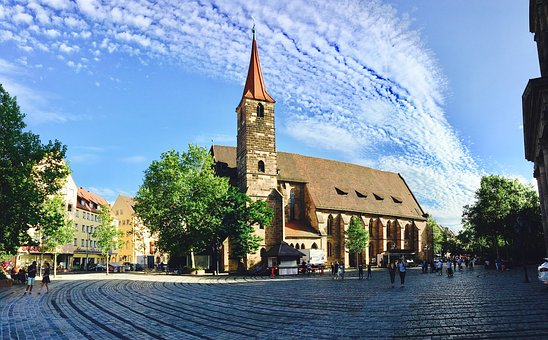 Architecture, Church, Travel, Waters, Sky, St Jacob