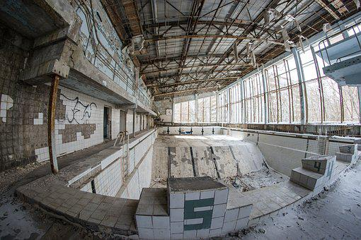 Pool, Swimming, Sports, Exercise, Pripyat, Ukraine