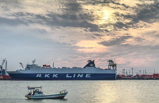 Sea, Ship, Transportation System, Water, Harbor