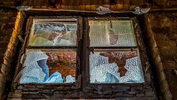 Window, Old, Old Window, Wood, Wall, Weathered