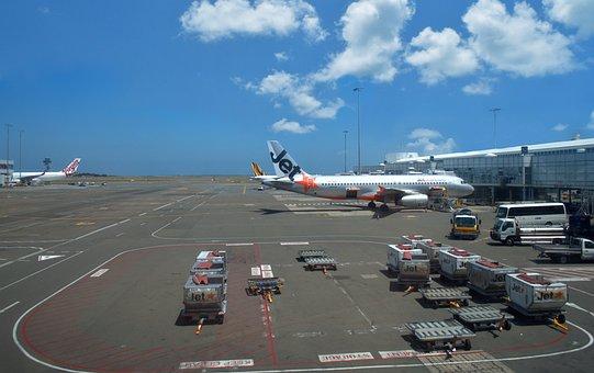 Transportation System, Travel, Airport, Airplane