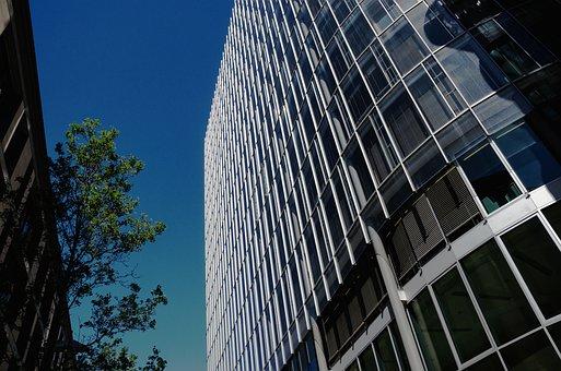 Large, Skyscraper, Architecture, Office, Glass