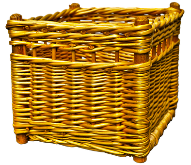 Wicker Basket, Basket, Woven, Basket Ware, Graze
